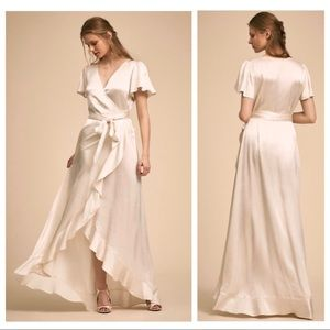 BHLDN - GHOST LONDON - WRAP DRESS - NWT
